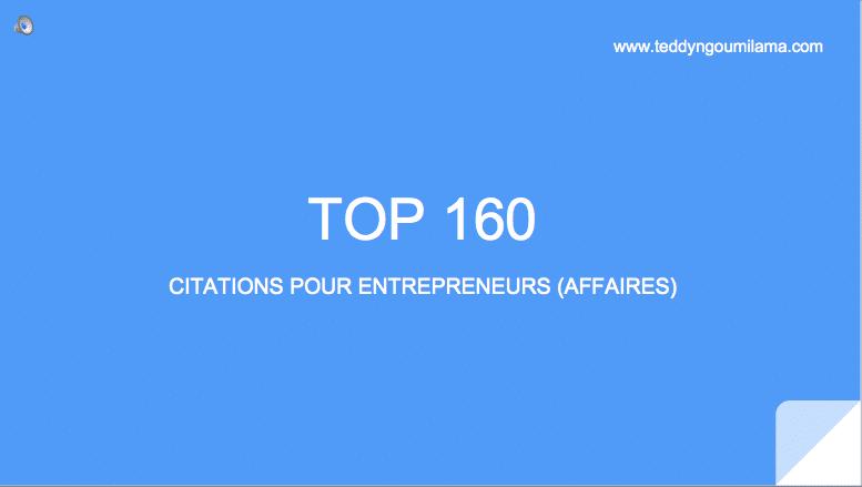 160 citations célèbres et inspirantes pour entrepreneurs et auto entrepreneurs
