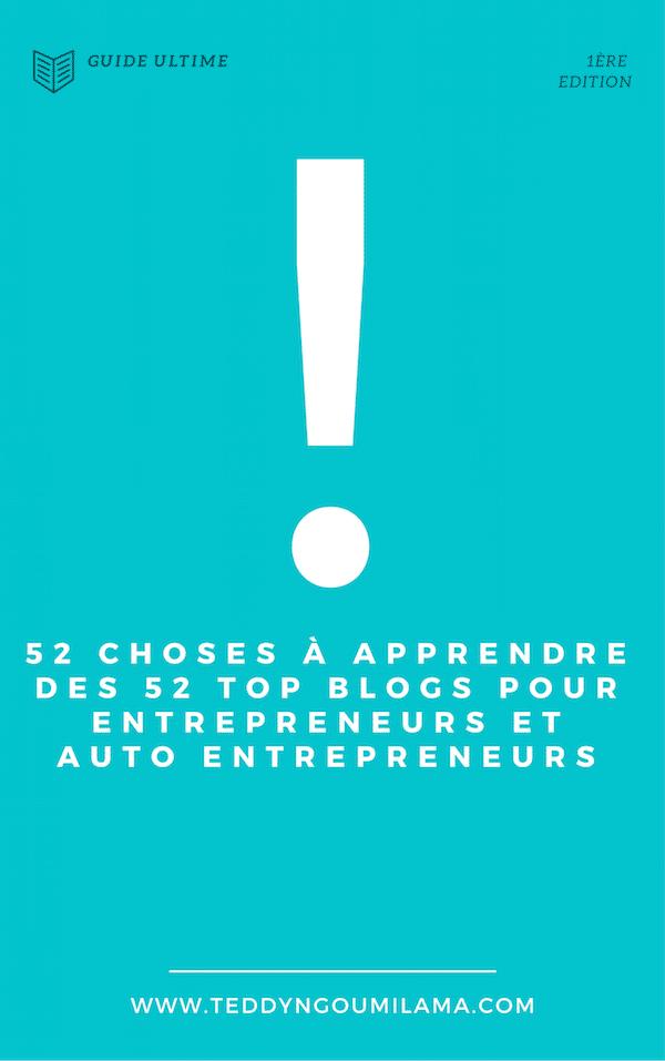 52 top blogs pour entrepreneurs et auto entrepreneurs